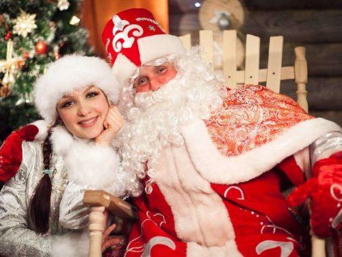 Усадьба Дедушки Мороза в Рождественской деревне