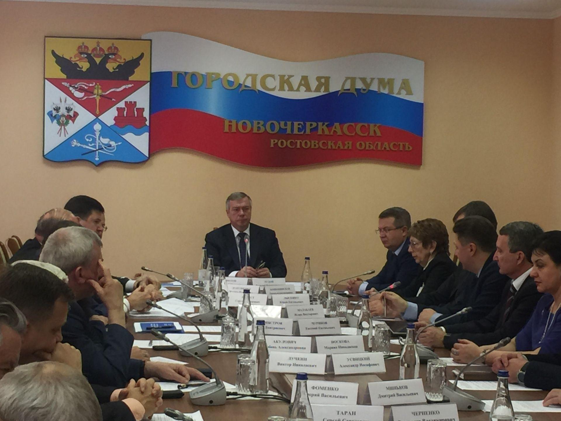 Глава Донского региона удовлетворён состоянием нового парка в Новочеркасске