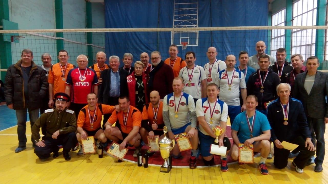 Сотрудники оборонных предприятий приняли участие в турнире по волейболу