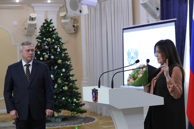 Губернатор поздравил журналистов РО