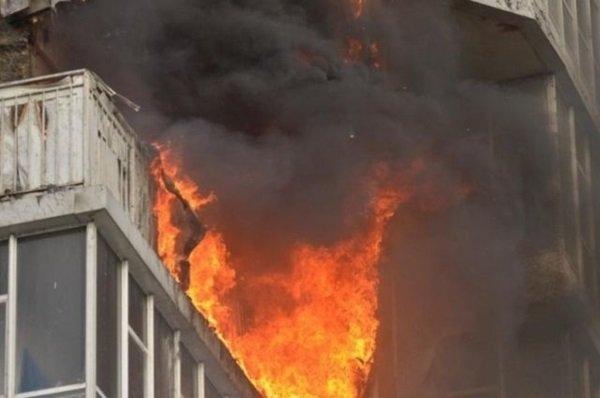 В Новочеркасске при пожаре пострадали пожилые мужчина и женщина