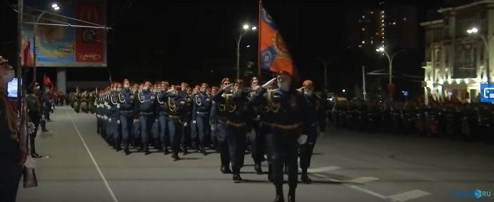 Репетиции Парада Победы прошли в донской столице