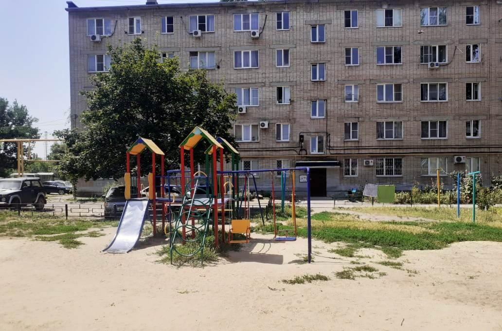 В казачьей столице идёт ремонт детских площадок