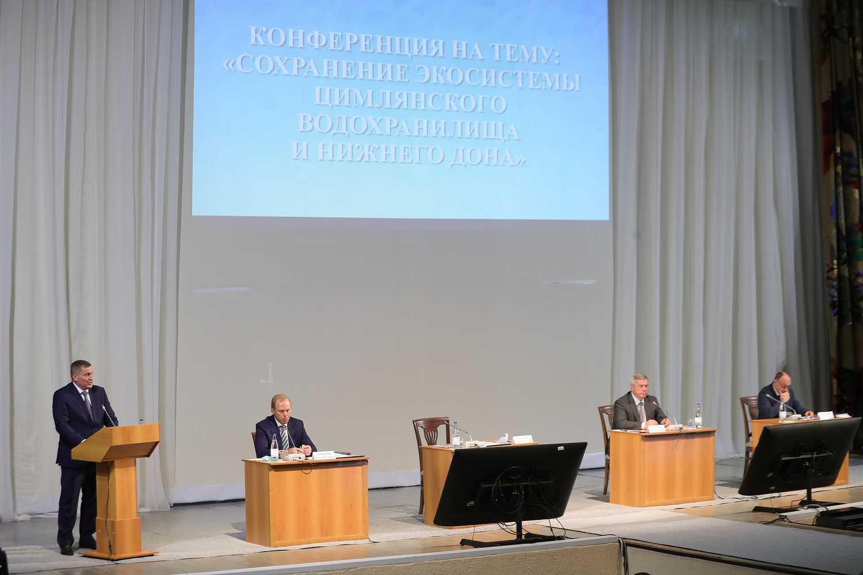 Губернатор Ростовской области подчеркнул важность сохранения водных ресурсов Дона