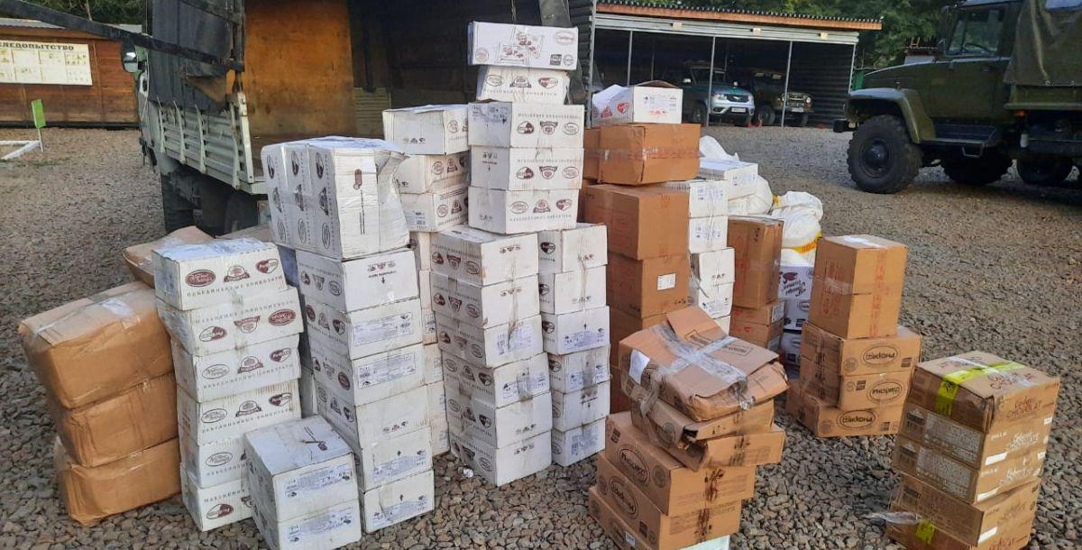 Контрабанда конфет пресечена в Ростовской области