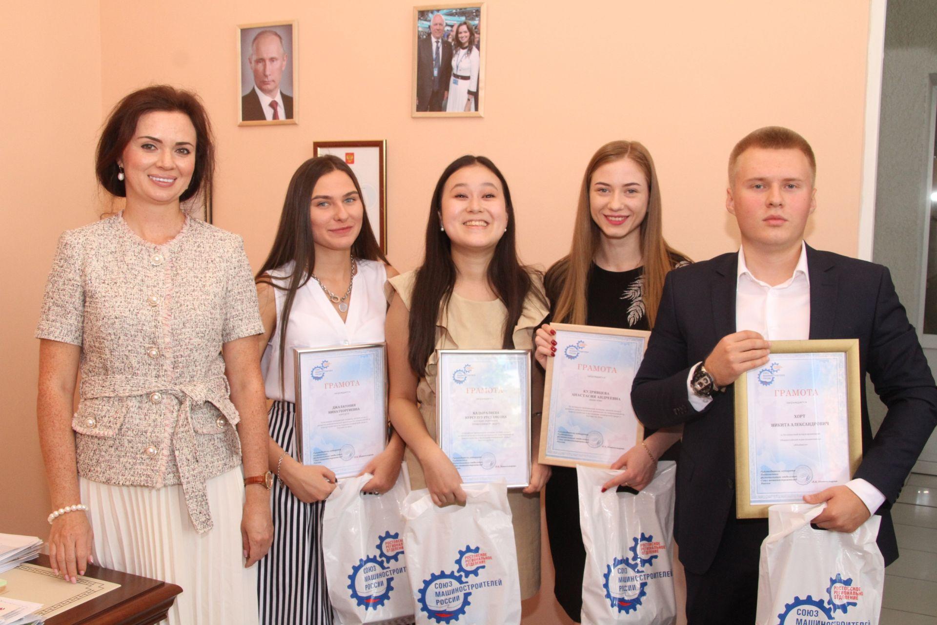«Союз Машиностроителей» наградил волонтёров