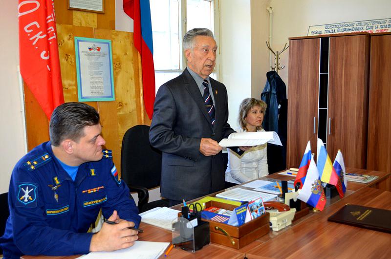 Ветераны Новочеркасска собрались на первом после пандемии заседании