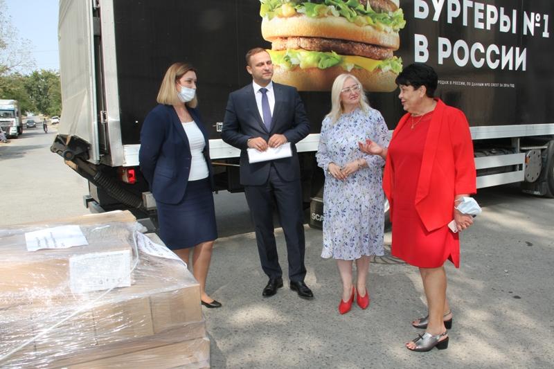 Инфекционная больница Новочеркасска получила 15 рециркуляторов от компании Макдоналдс
