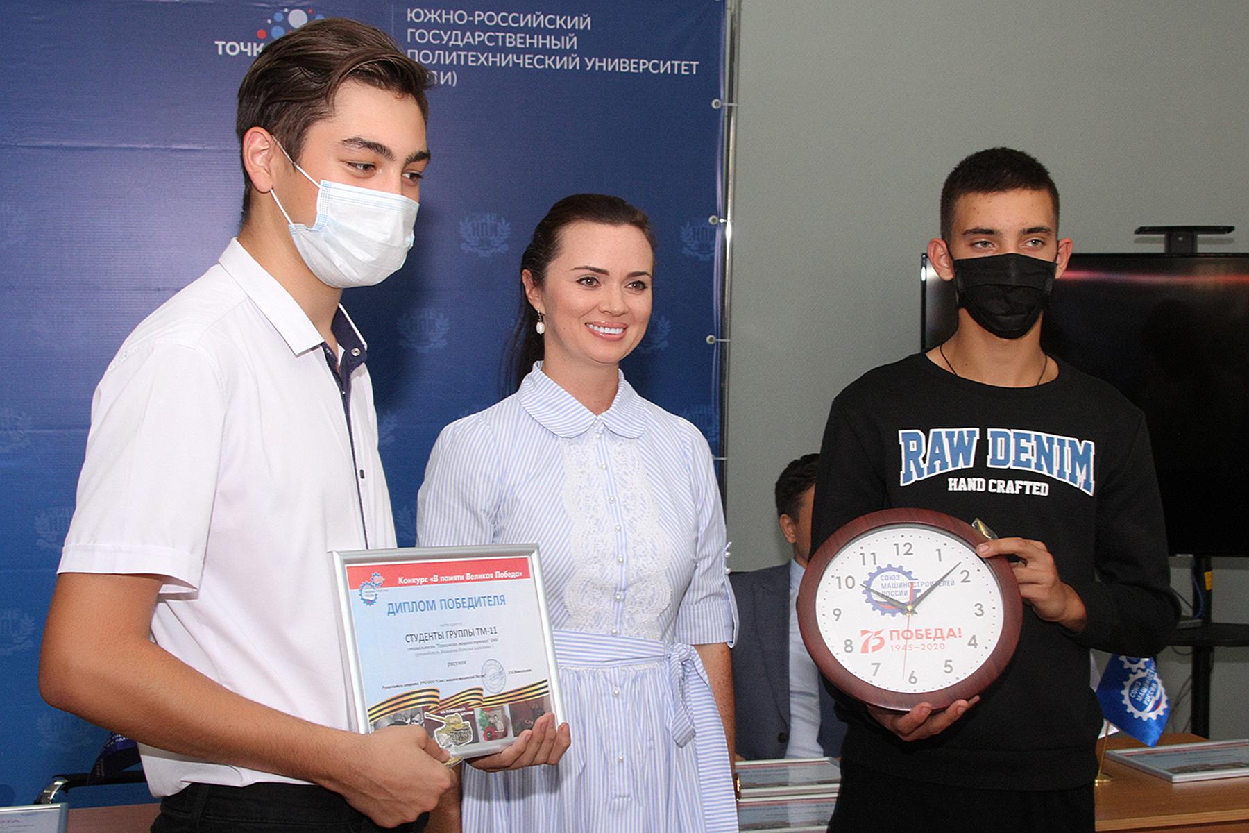 СоюзМаш поздравил финалистов творческого конкурса «В памяти великая Победа»
