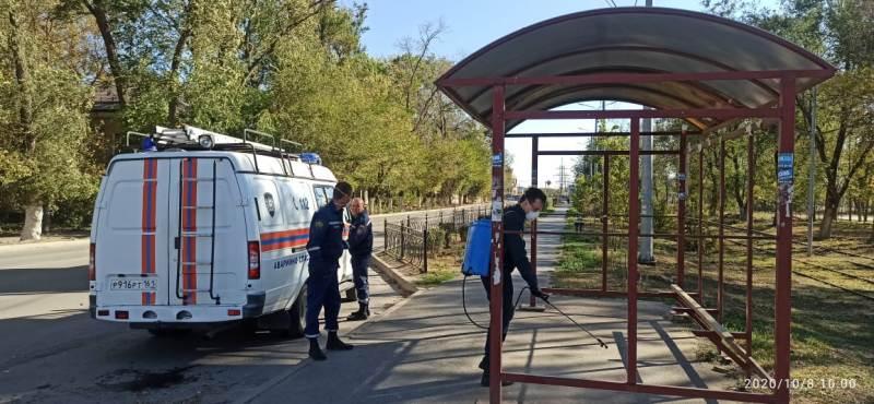 Массовая санобработка мест проходит в казачьей столице