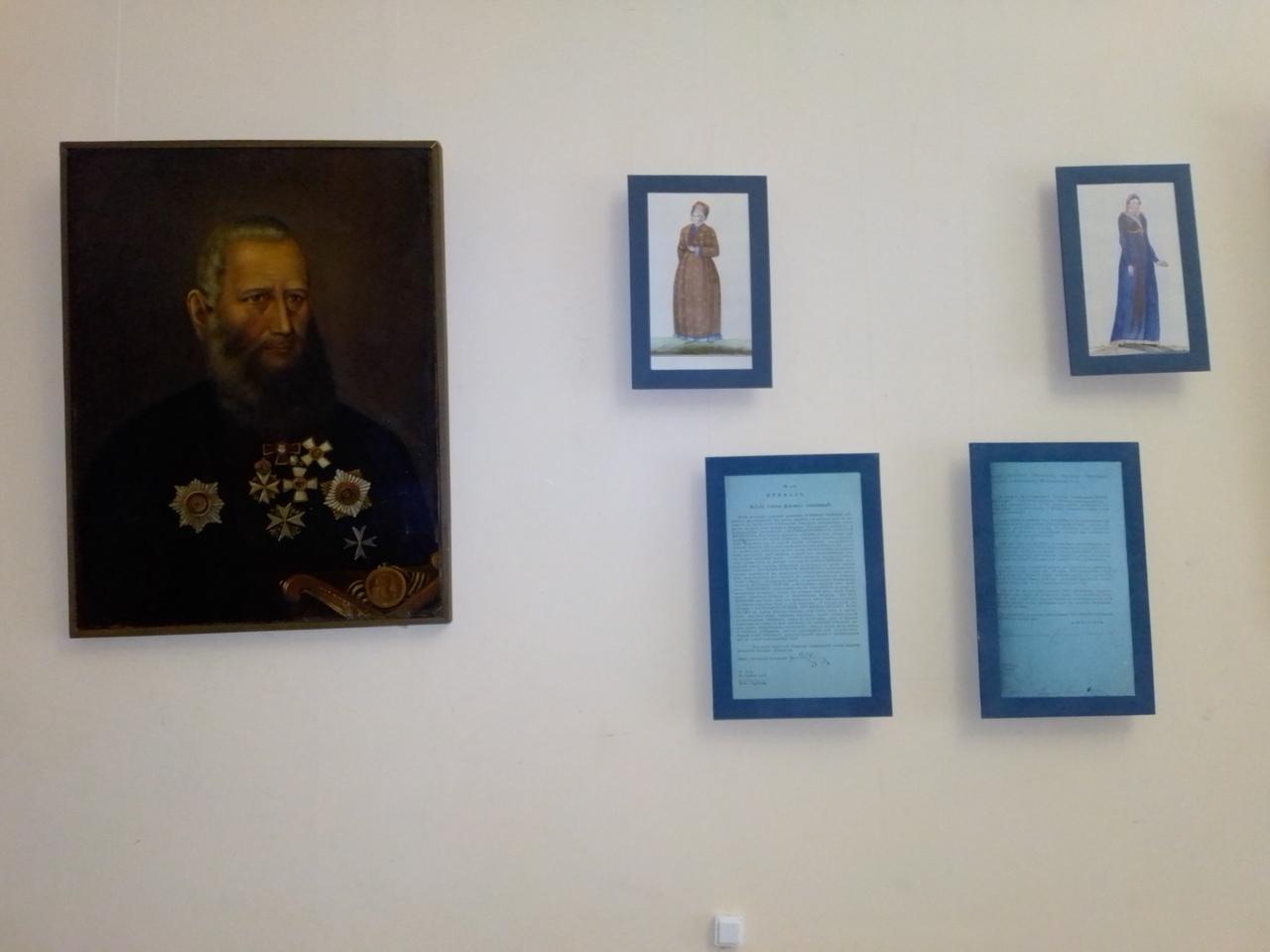Новая историческая выставка откроется в Атаманском дворце
