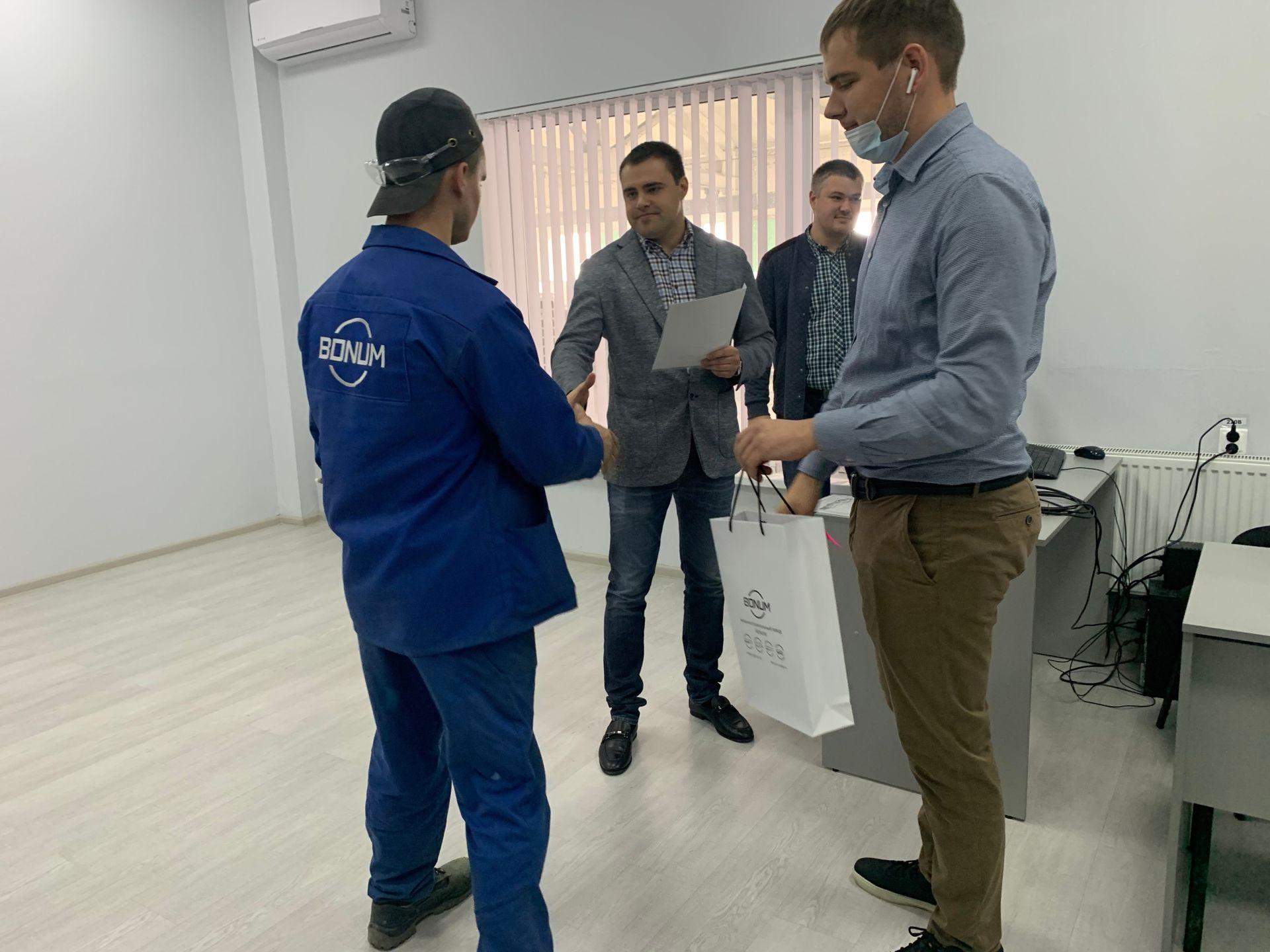 """Успех завода """"Бонум"""""""