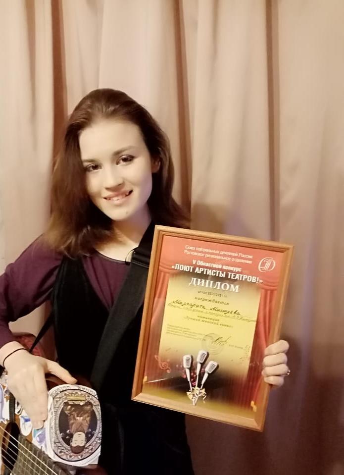 Лучшая поющая артистка служит в Новочеркасском драмтеатре