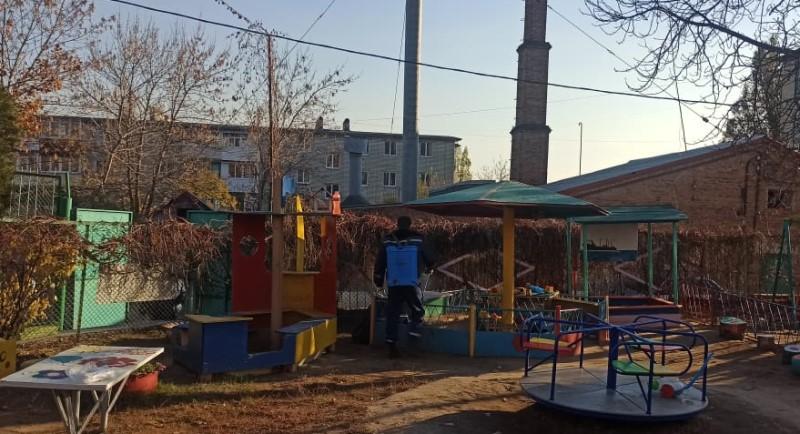 Санобработка в Новочеркасске проходит масштабно
