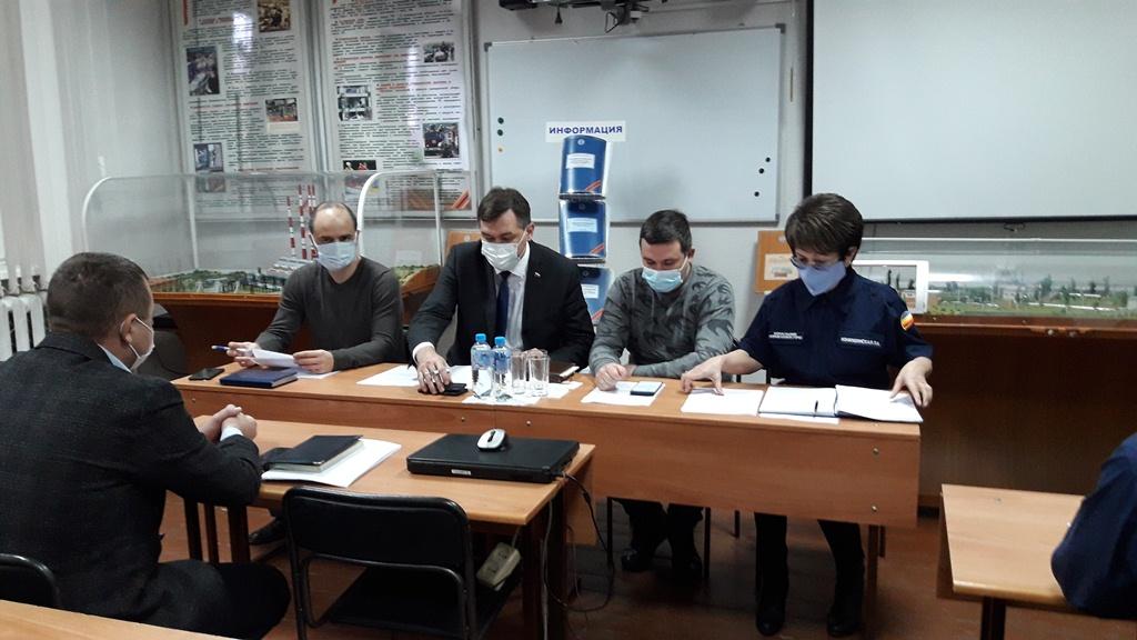 В Новочеркасске прошло первое в Новом году заседание городской комиссии по ЧС