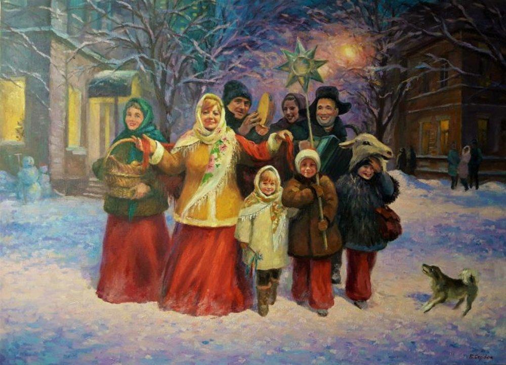 Старый Новый год: вареники с сюрпризами и колядки  – встречаем праздник