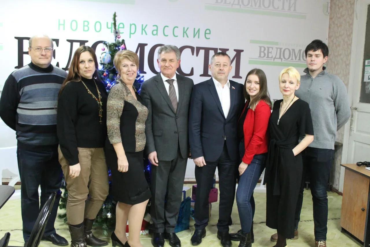 «Новочеркасские ведомости» принимают поздравления с профессиональным праздником