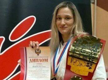 Новочеркасская спортсменка Анна Новикова стала двукратной чемпионкой страны по рукопашному бою
