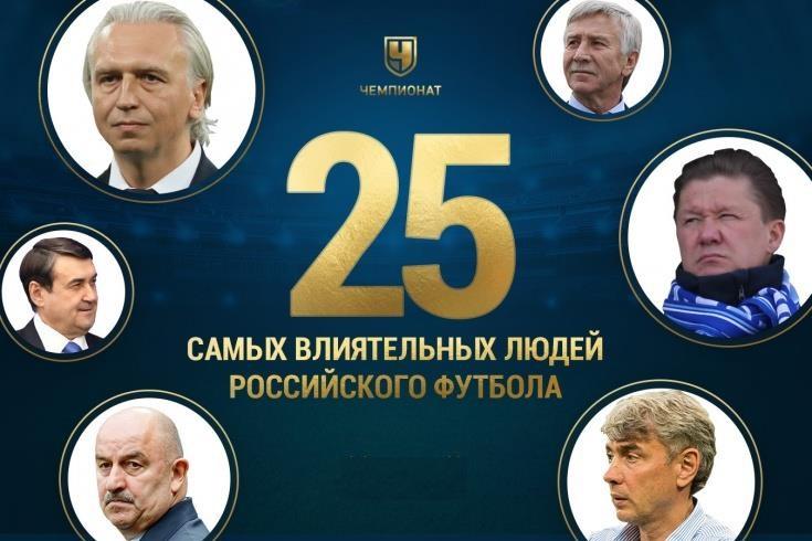Президента не включили в топ-25 влиятельных людей нашего футбола. А спортдиректор ФК «Ростов» есть