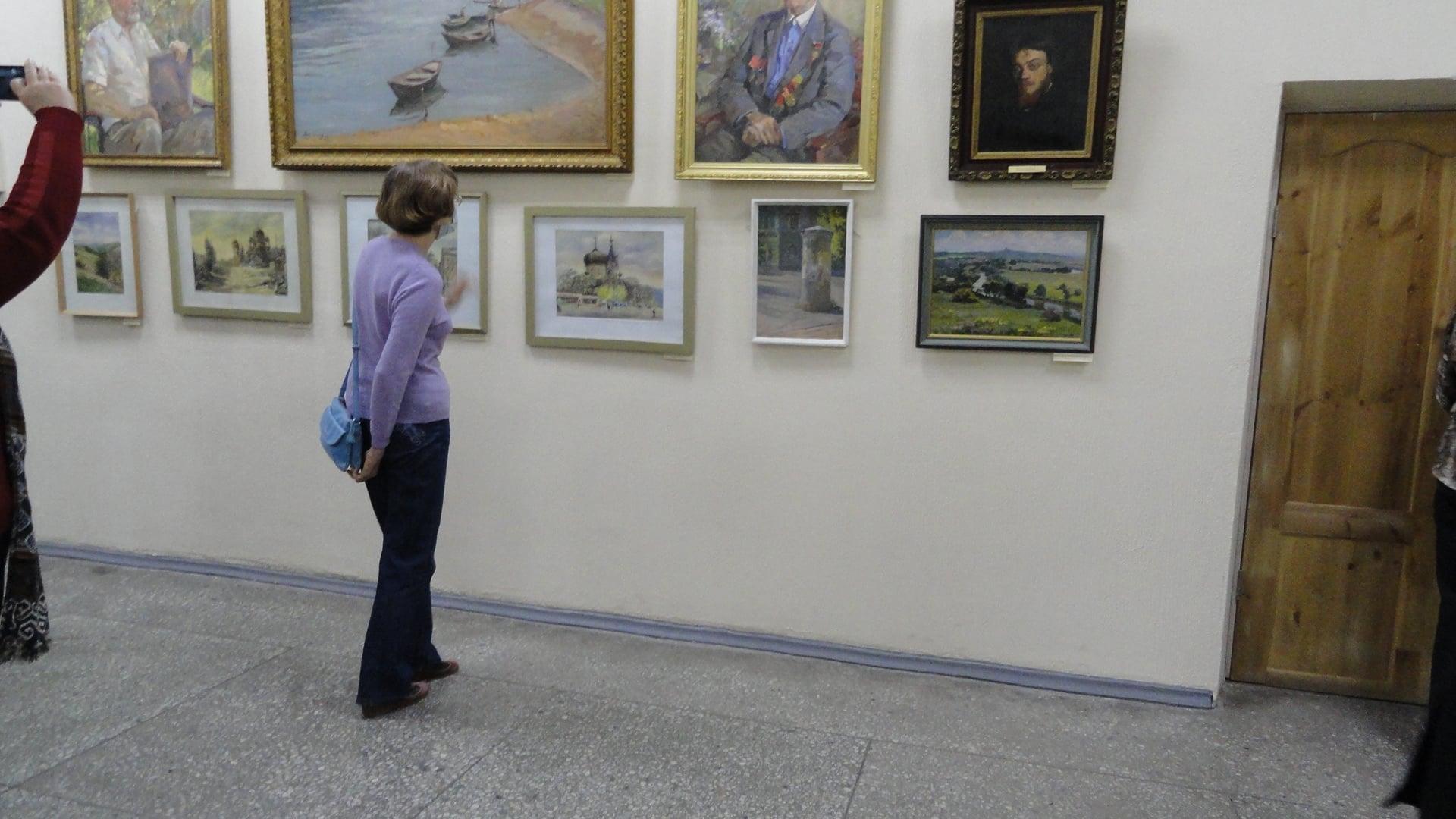 «Заметный след оставив на земле»: выставка посвящённая 50-летию Клуба художников Новочеркасска