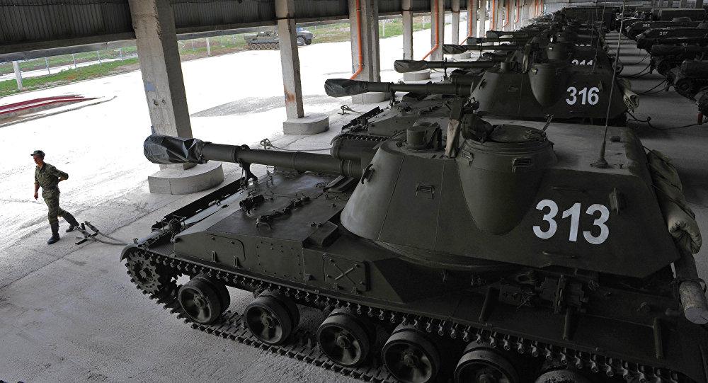 В Новочеркасске военные зарабатывали, сдавая на металлолом детали танков