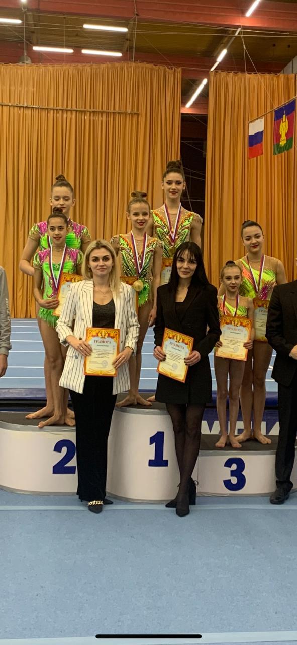 Новочеркасские акробаты завоевали серебро чемпионата ЮФО в составе сборной