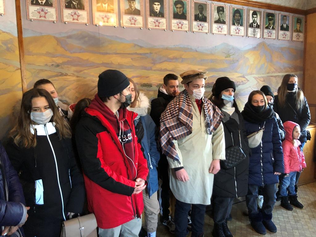 Из первых уст: новочеркасские студенты посетили музей афганской войны