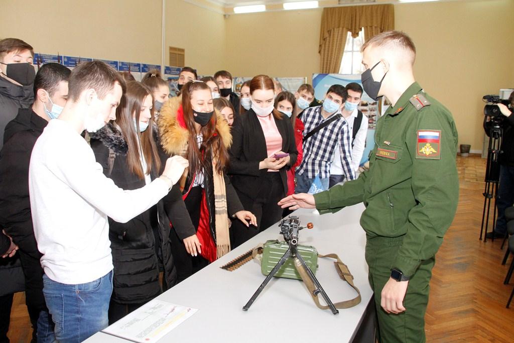 В Новочеркасске прошел урок мужества для студентов НИМИ (ДГАУ)