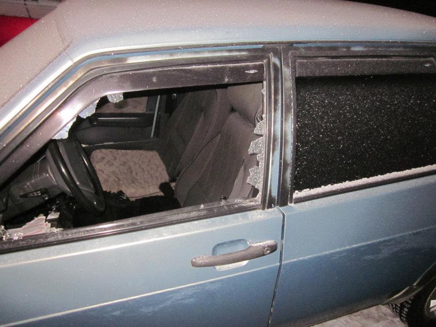 Новочеркасец угнал машину соседа, врезался в дерево и убежал, прихватив аккумулятор