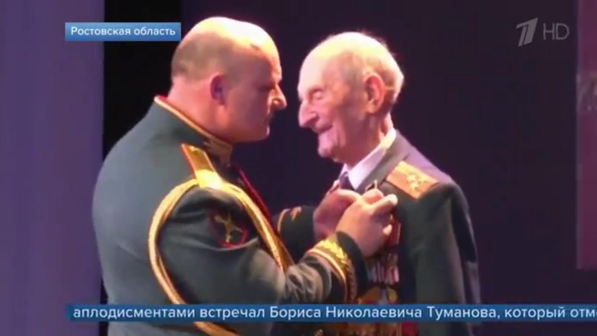 Борис Николаевич Туманов – на Первом канале!