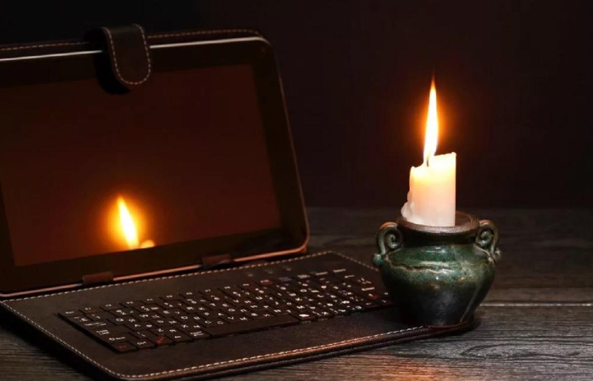 Отключение электричества 5 марта