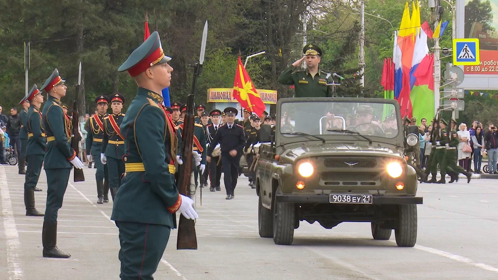 С 3 по 7 мая в Новочеркасске пройдут репетиции Парада Победы
