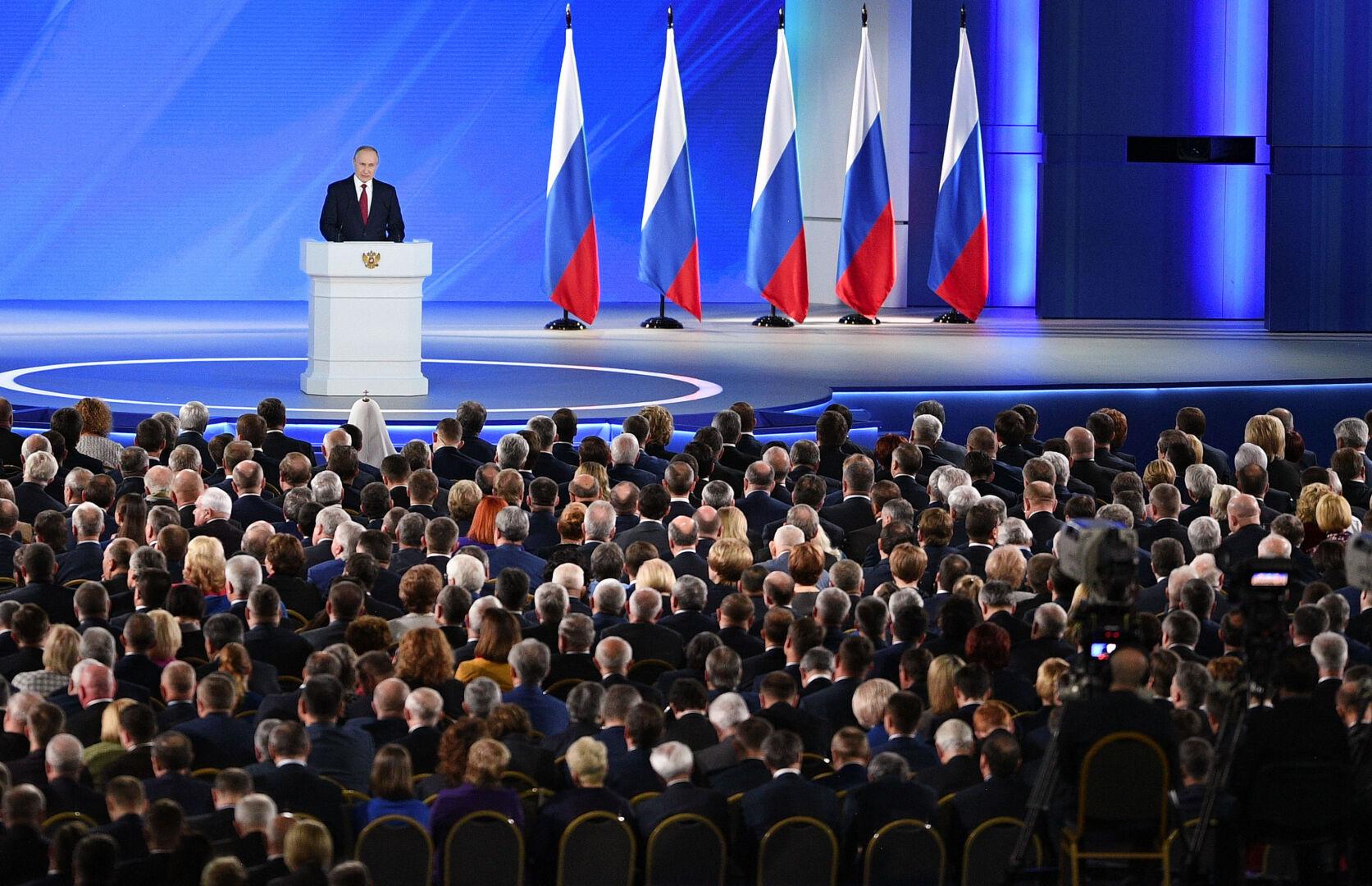 Президент огласит Послание Федеральному Собранию 21 апреля