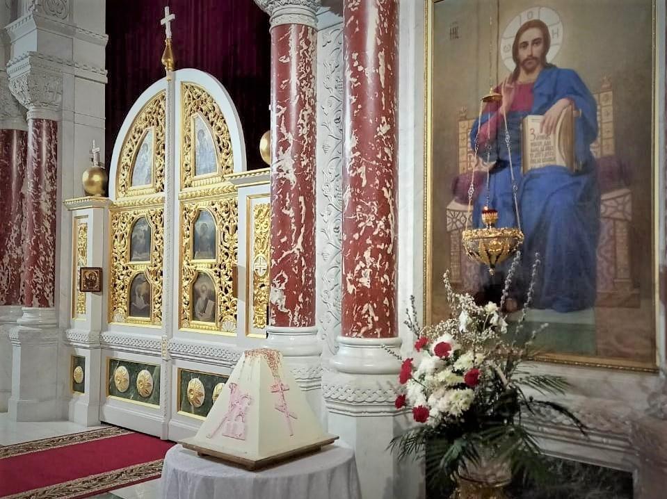 Христово Воскресение встретили в Новочеркасске с царь-пасхой