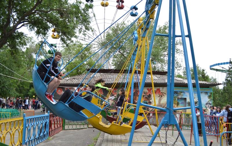 """Акция """"Бесплатные аттракционы"""" в день защиты детей в Новочеркасске станет ежегодной"""