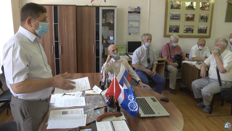 Новочеркасский Совет ветеранов обсудил планы на будущее