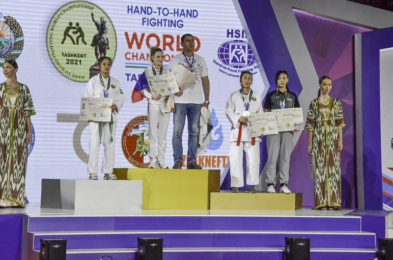 Золото чемпионата мира по рукопашному бою у новочеркасской спортсменки