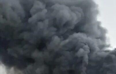 СМИ опубликовали видео взрыва на каменском химкомбинате в Ростовской области