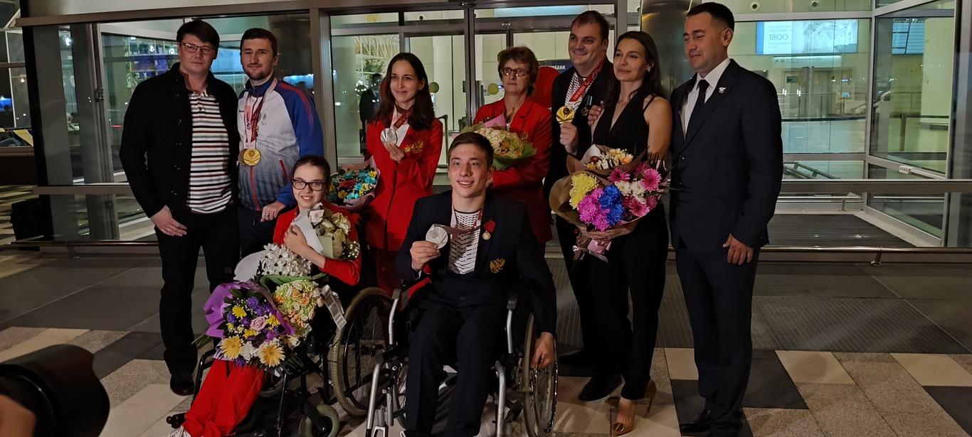 Новочеркасские паралимпийцы возвратились в казачью столицу