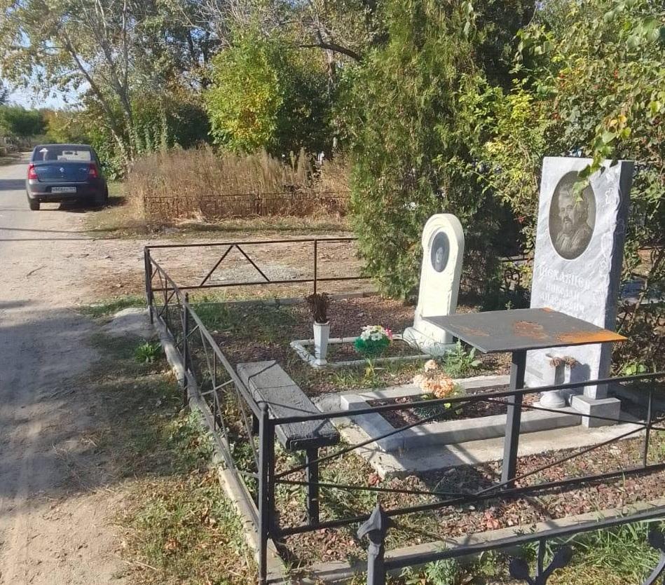 Восстановлена ограда на могиле Николая Шеховцева. Топ  обращений новочеркасцев на 7 октября