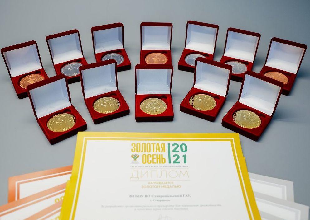 Разработки ДонГАУ стали медалистами престижной всероссийской выставки «Золотая осень»